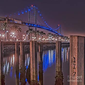 Vincent Thomas Bridge by Nick Carlson