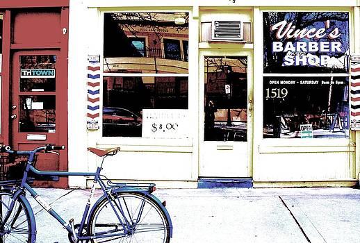 Vince's Barber Shop by Greg Bush