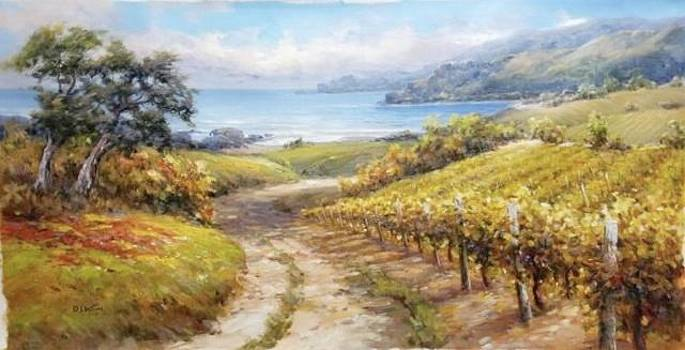Vineyard by the Bay by David Kim