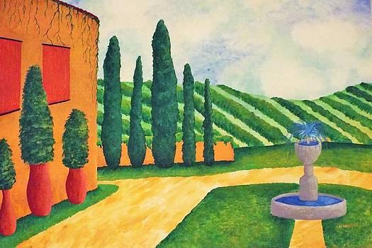 Vineyard by Stefanie Beauregard