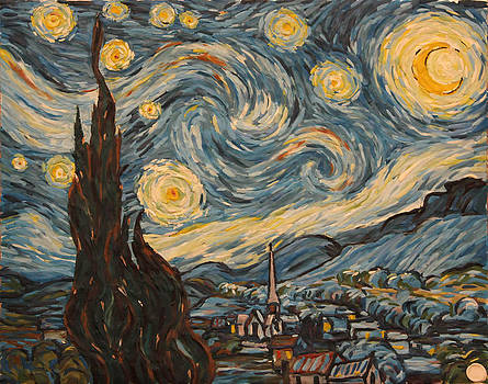 Vinsent's starlight night by Marat Zakirov