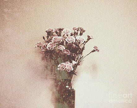 Vintage Abstract Flowers by Victoria Herrera
