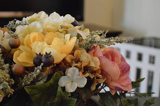 Vintage arrangement by Meganne Peck