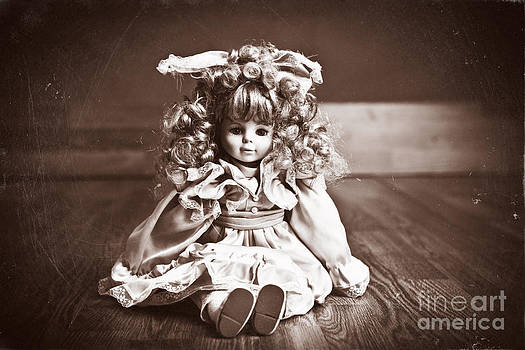 Vintage Baby Doll  by Sharon Dominick