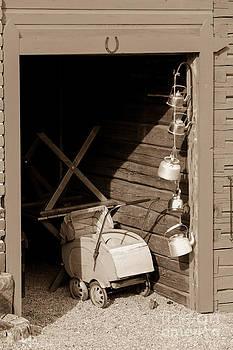 Vintage baby strollers by Markus Hovikoski