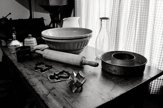 Rebecca Brittain - Vintage Baking Kitchen Scene