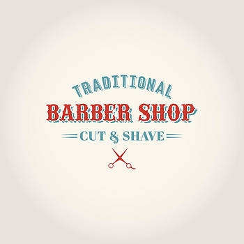 Vintage Barber Shop by Mike Taylor