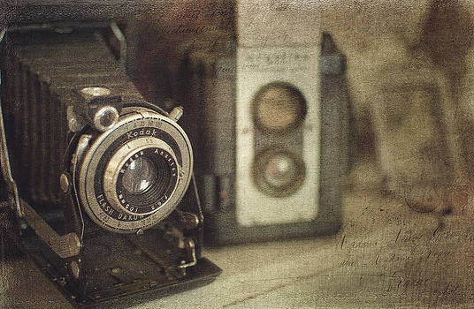 Vintage Cameras by Kathy Jennings