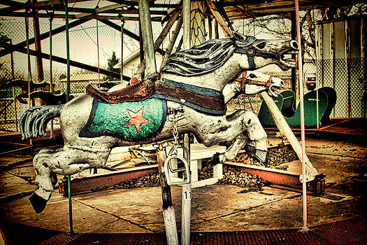 TONY GRIDER - Vintage Carousel Horses 003