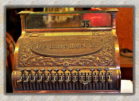 Kae Cheatham - Vintage Cash Register