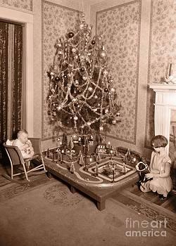 Edward Fielding - Vintage Christmas Tree Card
