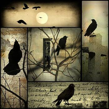 Gothicrow Images - Vintage Crow Art Collage
