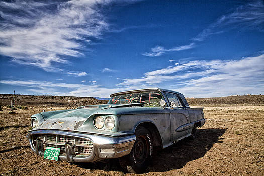 Vintage Desert Car by Shanna Gillette