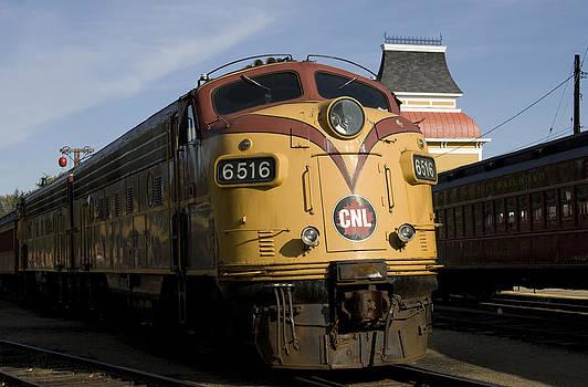 John Clark - Vintage Diesel Locomotive
