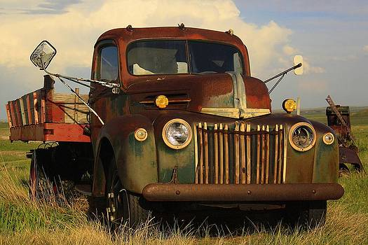 Vintage Dodge by Richard Stillwell