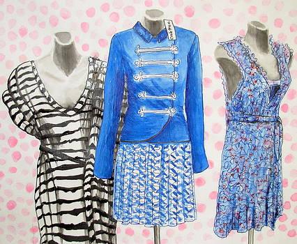 Vintage Dresses by Elizabeth Crabtree