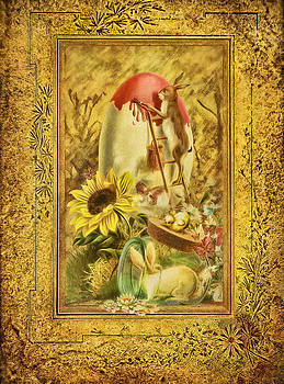 Gynt - Vintage Easter Greeting Card
