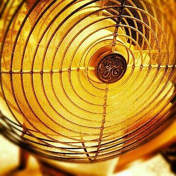 Vintage Fan by Rebecca Kowalczik