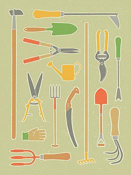Vintage Garden Tools by Mitch Frey
