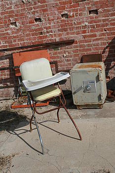 Vintage Highchair by Paulette Maffucci