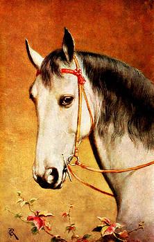 Vintage Horse by Lora Mercado