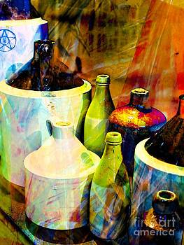 Vintage Jugs by Anne Pendred