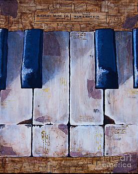 Vintage Keys by Melissa Sherbon