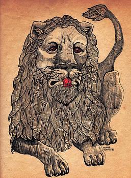 Vintage Lion by Monique Montney