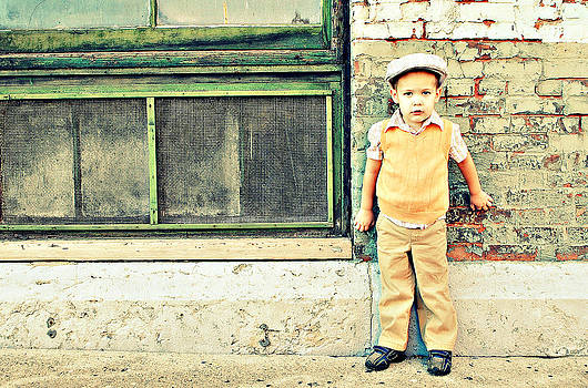 Vintage Little Boy by Stephanie Grooms