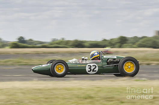 Vintage Lotus Racing Car by Simon Pocklington