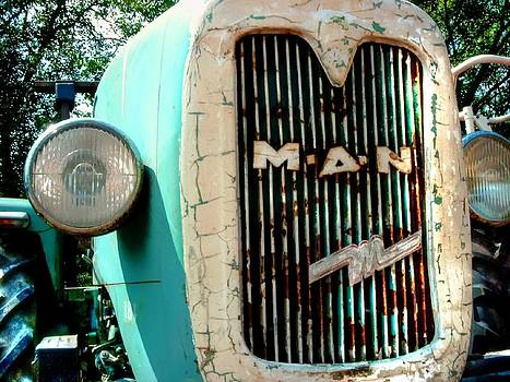 Alexander Drum - vintage MAN Tractor