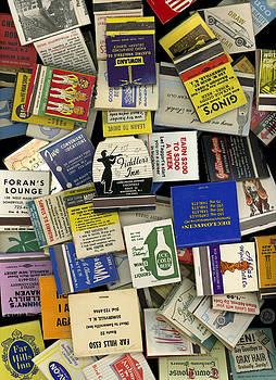 Vintage Matchbooks 102 by Ronald Schafer