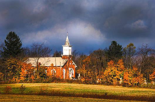 Randall Branham - Vintage old Country church Cemetery