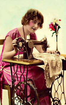 Vintage Seamstress by Lora Mercado
