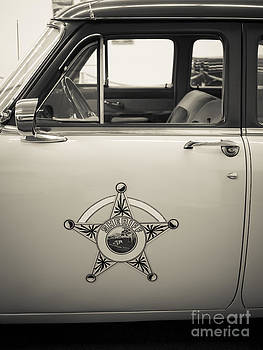 Edward Fielding - Vintage Sheriffs Police Car