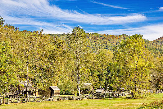 Simply  Photos - Vintage Smoky Mountain Farm