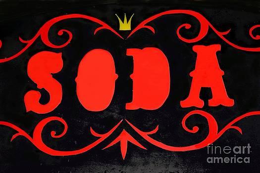 Sophie Vigneault - vintage soda sign
