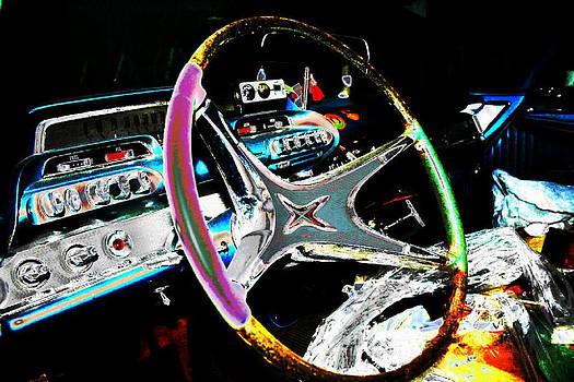 Vintage Steering Wheel by Paul Szakacs