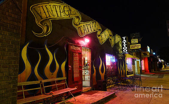 Vintage Tattoo Parlour by Nina Prommer