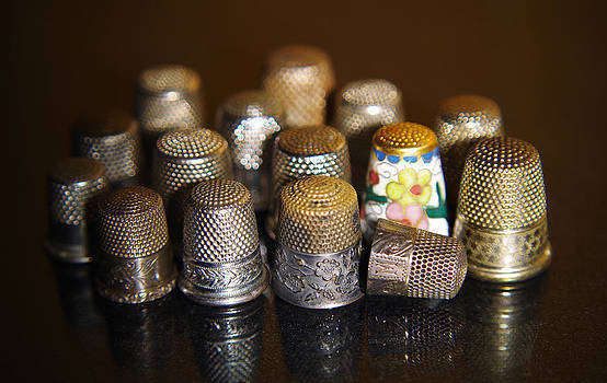 Vintage Thimbles by Sarah Barber