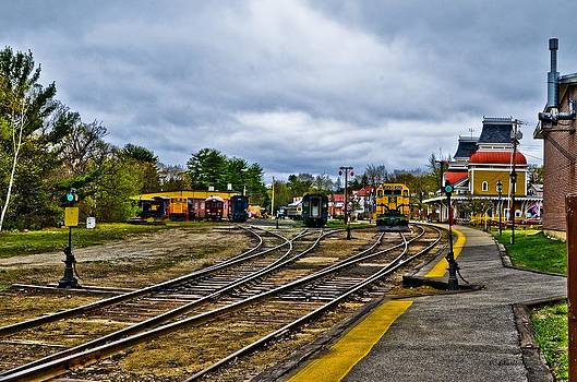 Vintage Train Station by Pat Edsall