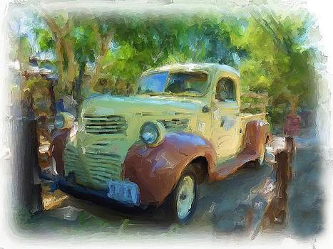 Vintage Truck by Cary Shapiro