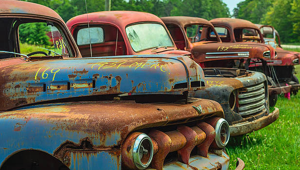 Vintage Trucks 2 by James Canning