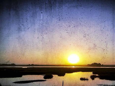 Sunrise Sunset Image Art - Coastal Blue Persuasion by Jo Ann Tomaselli