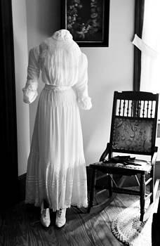 Rebecca Brittain - Vintage White Dress-Wedding Finery