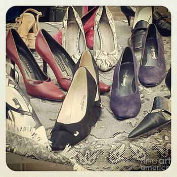 Vintage Women Shoes by Victoria Herrera