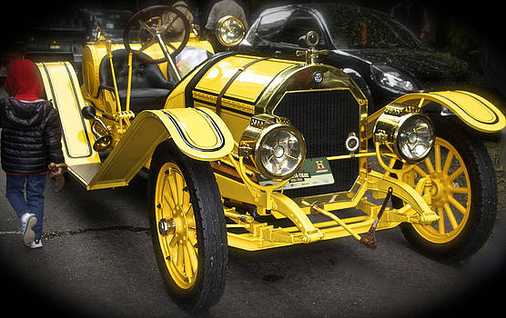 Venetia Featherstone-Witty - Vintage Yellow Roadster