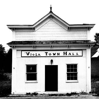 Viola Town Hall by   Joe Beasley