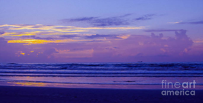Violet Beach by Jerry Hart