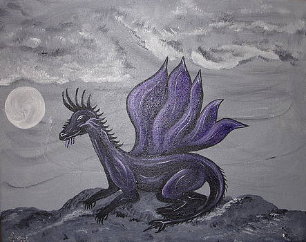Violet Dragon by Angie Butler